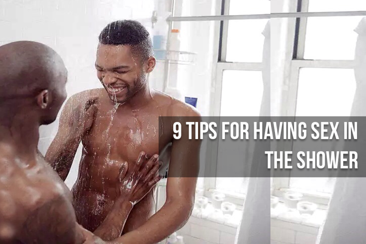 tips for shower sex