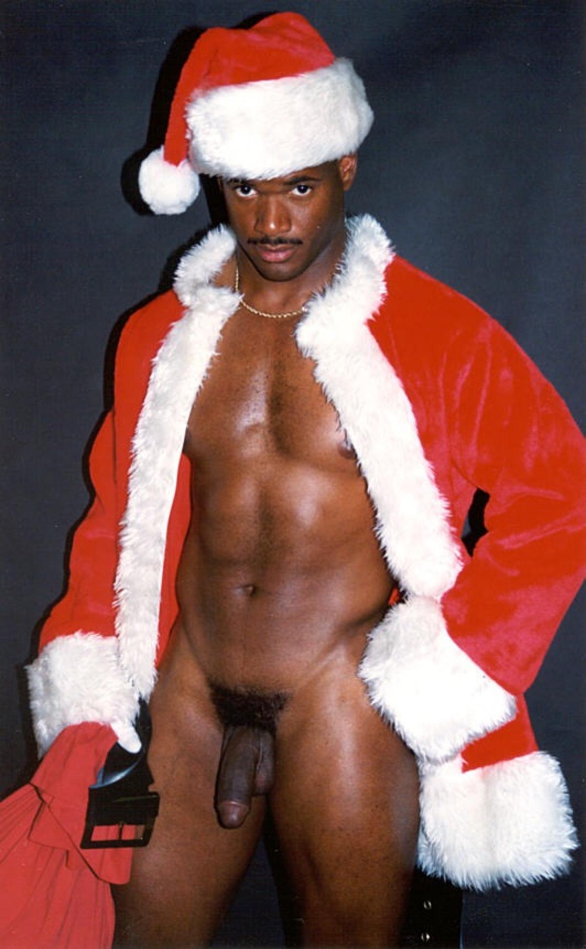 Black nude santa hentai pic